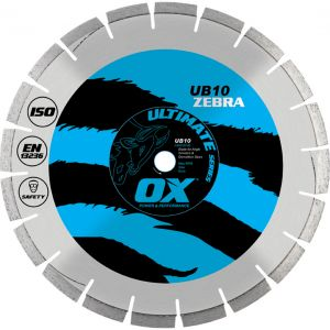Image for DISQUE DIAMANT ULTIMATE MIXTE ABRASIF/BETON UB10 ZEBRA