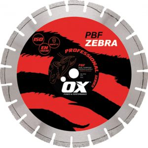 Image for DISQUE DIAMANT PROFESSIONNAL MIXTE ABRASIF/TOUS TRAVAUX PB10 ZEBRA